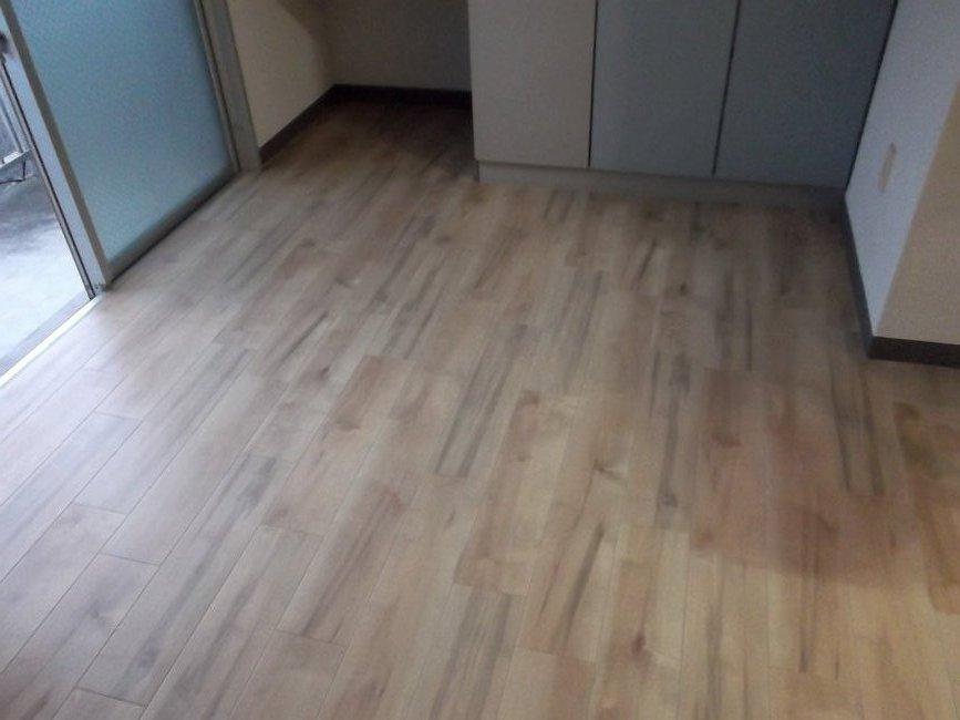 宮崎市のアパートクッションフロア