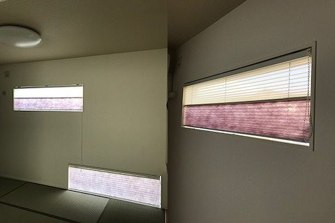 和室カーテン 施工事例