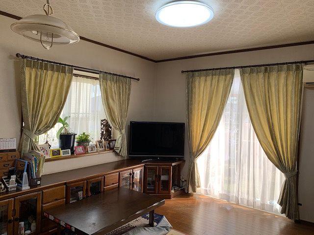 宮崎市のオーダーカーテン施工事例