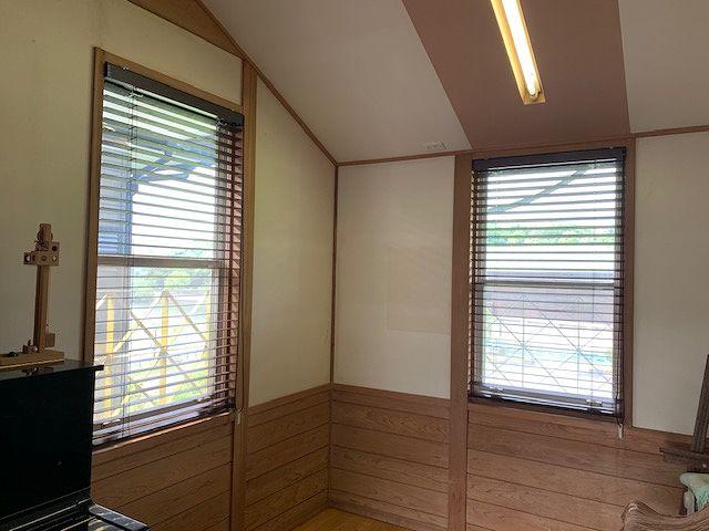 宮崎市 ウッドブラインドの施工事例