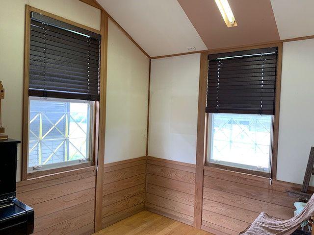 宮崎市 木製ブラインドの施工事例