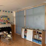 幼稚園のロールスクリーン 施工事例
