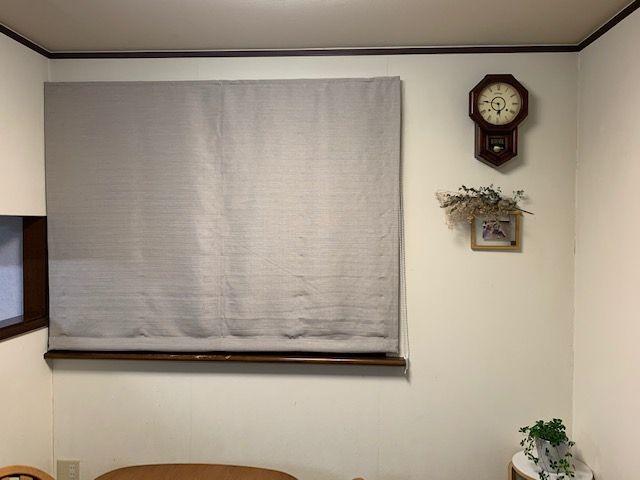 出窓のシェード