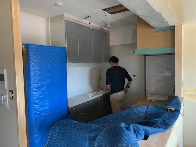 宮崎市内のマンションキッチンリフォーム