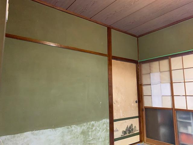 宮崎市K様邸のじゅらく壁・砂壁