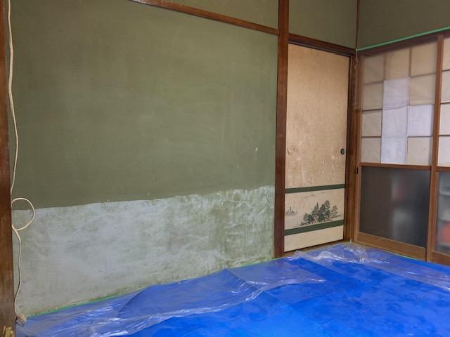 宮崎市K様邸の砂壁・じゅらく壁の和室