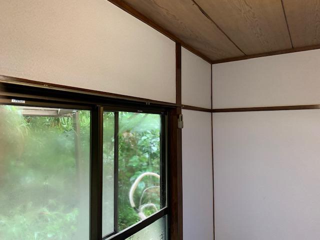 和室の壁紙完成画像