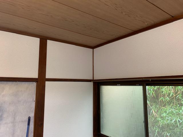 宮崎市K様邸の和室クロス完成画像