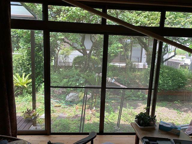 和室縁側の掃き出し窓